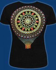 Up to the Sun T-shirt, glow in UV