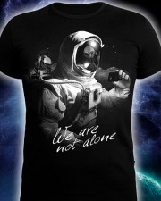 We Are Not Alone T-shirt, glow in dark & UV
