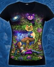 Alice T-shirt, glow in dark & UV