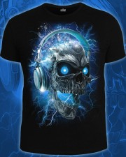 Electric Skull T-shirt, glow in dark & UV