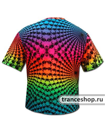 Fractal T-shirt, glow in UV