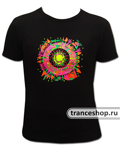 Animal T-shirt, glow in UV
