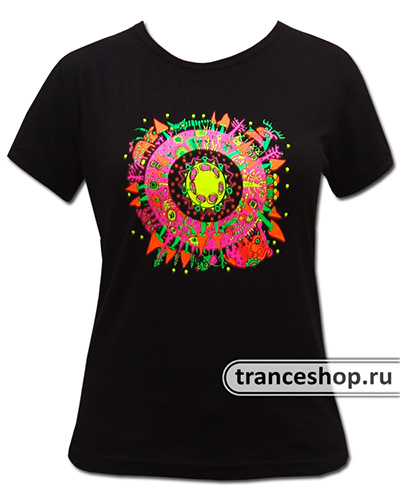 Animal T-shirt, glow in UV