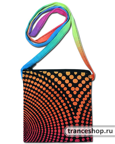 Wave Pouch-Pocket, glow in UV