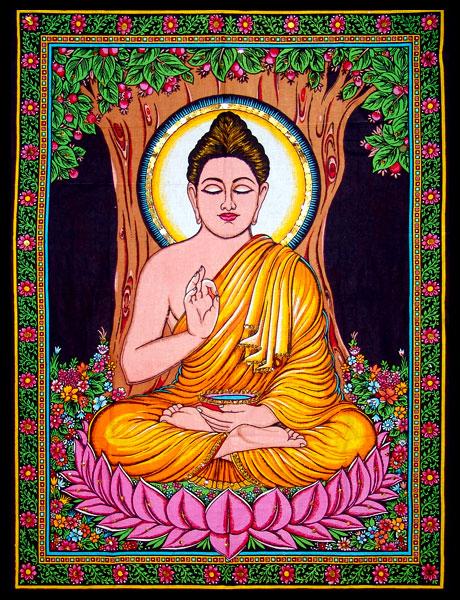 Полотно «Будда»