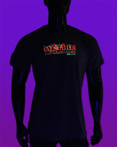 True Hallucinations T-shirt, glow in dark & UV