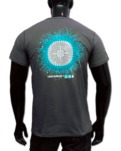Lunar Crater T-shirt, glow in dark & UV