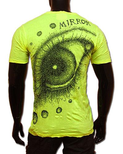 Eye T-shirt, glow in UV