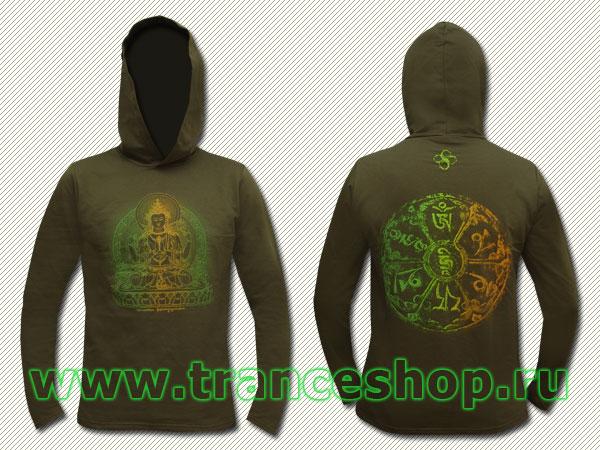 Avalokiteshvara Longsleeve, glow in UV