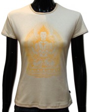 Avalokiteshvara T-shirt, glow in UV