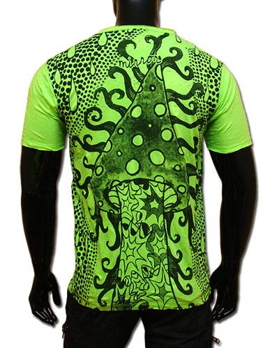 Amanita T-shirt, glow in UV