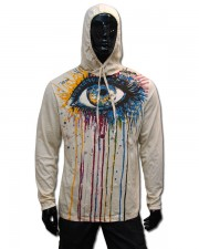 Eye Hooded Longsleeve