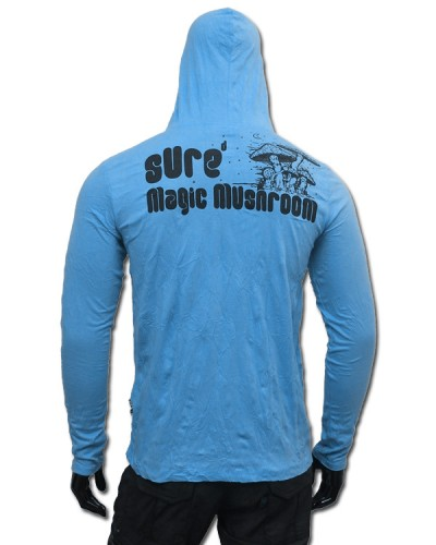 Magic Mushroom Hooded Longsleeve