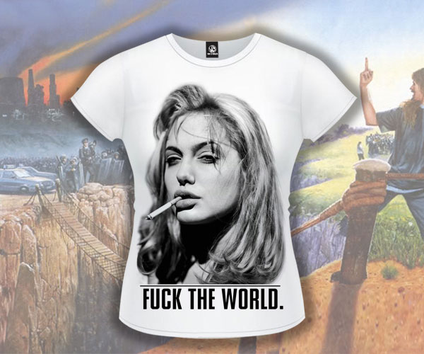 Футболка «Fuck the World»