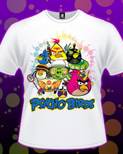 �������� �Psycho Angry Birds�