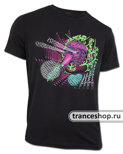 Jaguar T-shirt, glow in dark & UV