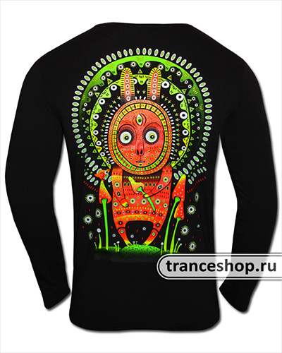 Leveret Longsleeve, glow in dark & UV