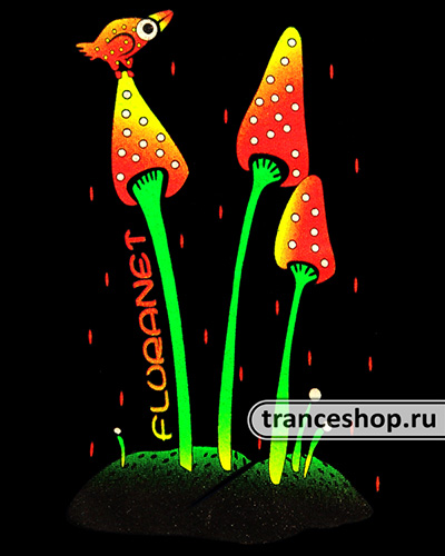Leveret Longsleeve, glow in dark & UV