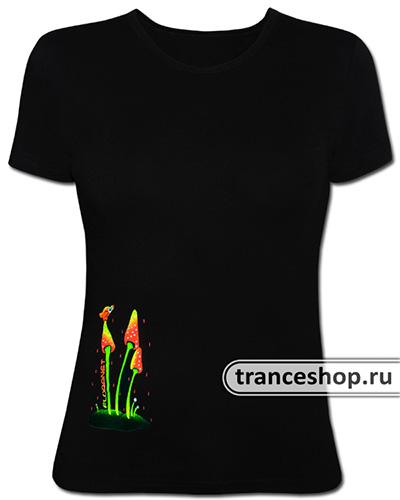 Leveret T-shirt, glow in dark & UV