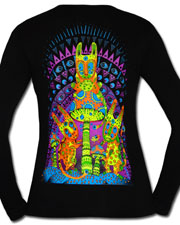 Fly Agaric Kidnapping Longsleeve, glow in UV