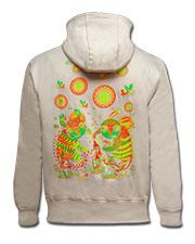 Куртка «Танец вокруг грибов»