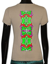 Evolution T-shirt, glow in dark & UV