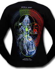 Nataraj Longsleeve, glow in dark & UV