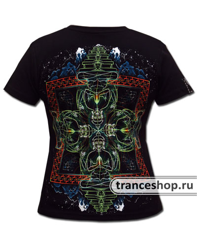 Buddha T-shirt, glow in dark & UV