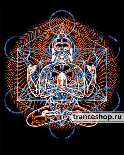 Buddha T-shirt, glow in dark & UV