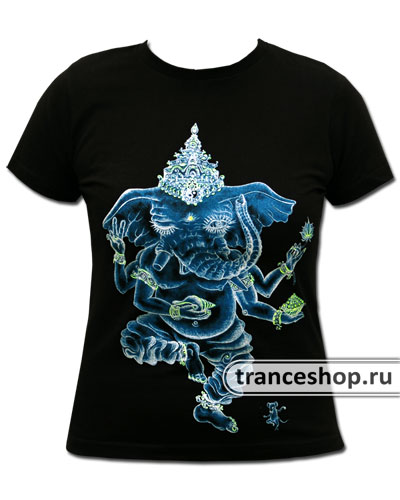 Nataraj T-shirt, glow in dark & UV