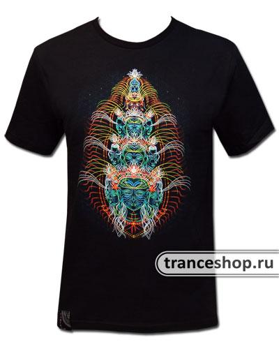 Avalokiteshvara T-shirt, glow in dark & UV