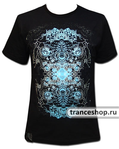 Electroplasm T-shirt, glow in dark & UV