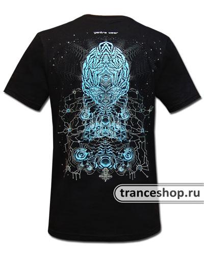 Electroplasm T-shirt, glow in dark & UV