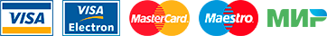 Visa MasterCard Maestro Мир
